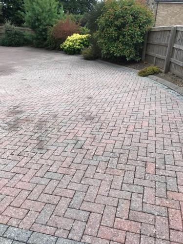 Pressure washing after clean (3)